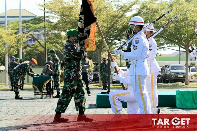 Pangdam Tanjungpura Pimpin Acara Tradisi Penerimaan Kasdam Sebagai Warga Baru