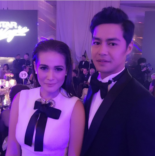 Zanjoe Marudo and Bea Alonzo Star Magic Ball 2015