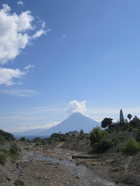 san pedro volcano lake atitlan guatemala