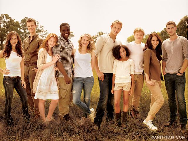 Especial: Reportagem sobre Hunger Games na Vanity Fair. 17