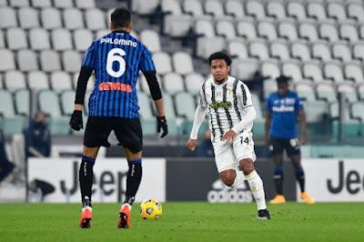 ملخص واهداف مباراة يوفنتوس واتالانتا (1-1) الدوري الايطالي