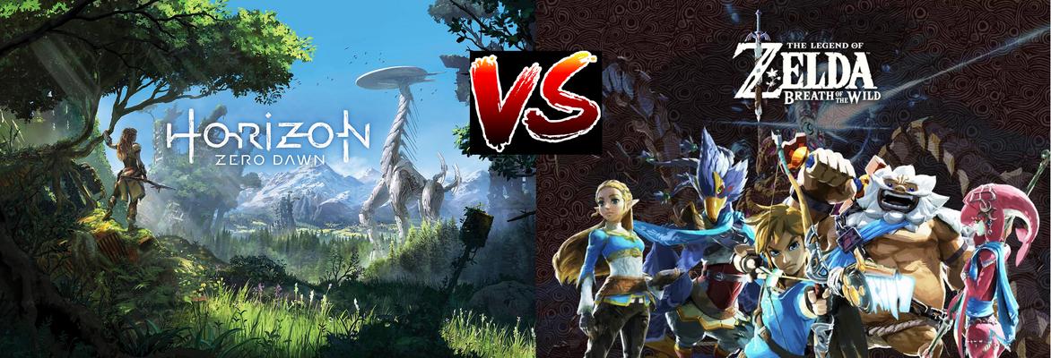 Zelda Breath Of The Wild Ps4 horizon: zero dawn vs zelda breath of the wild | the lan mob blog