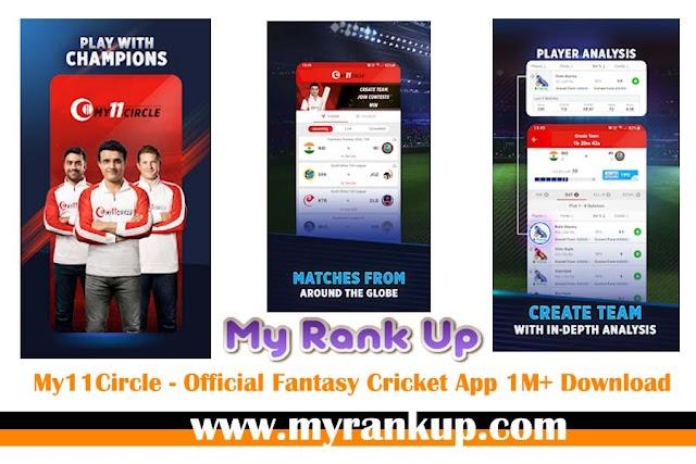 My11Circle - Official Fantasy Cricket App 1M+ Download