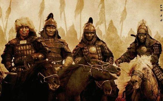 ظهور التتار وتاسيس مملكة المغول على يد جنكيزخان