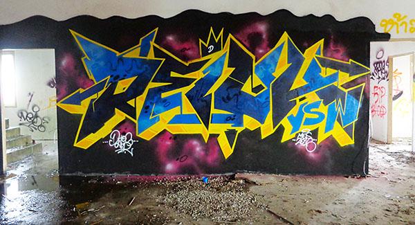 Meeting of Styles: Thailand 2016 street art festival by Yellowmenace