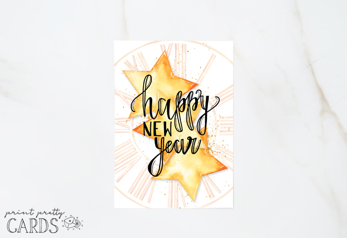 Free Printable New Year Card