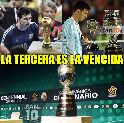 memes argentina chile 2016 messi