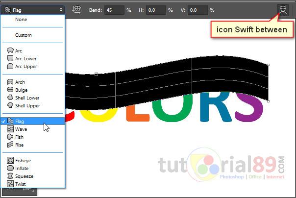 Jika di tutorial photoshop yang kemudian kita bpernah mambahas bagaimana Cara menciptakan tulisa elegan colorful dengan photoshop