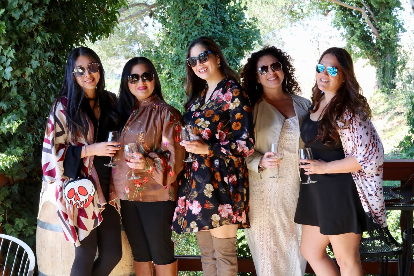 wine tour in Temecula, what to wear winetasting, stylish winetasting outfit