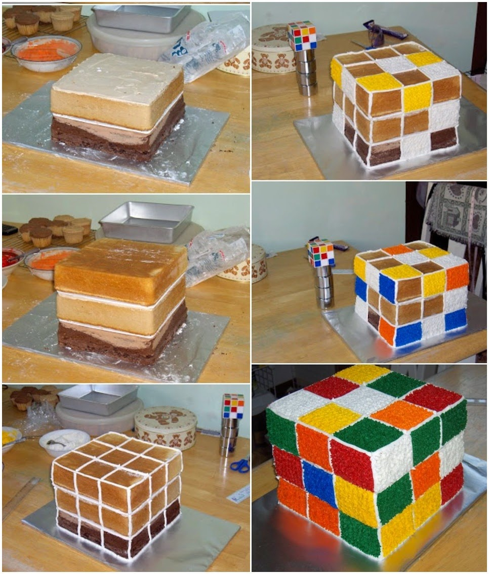 Rubik Cake Recipe