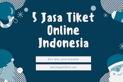 5 Jasa Tiket Online yang ada di Indonesia