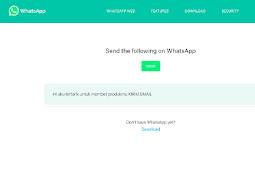 Cara membuat link Whatsapp untuk IG unik dengan Bitly