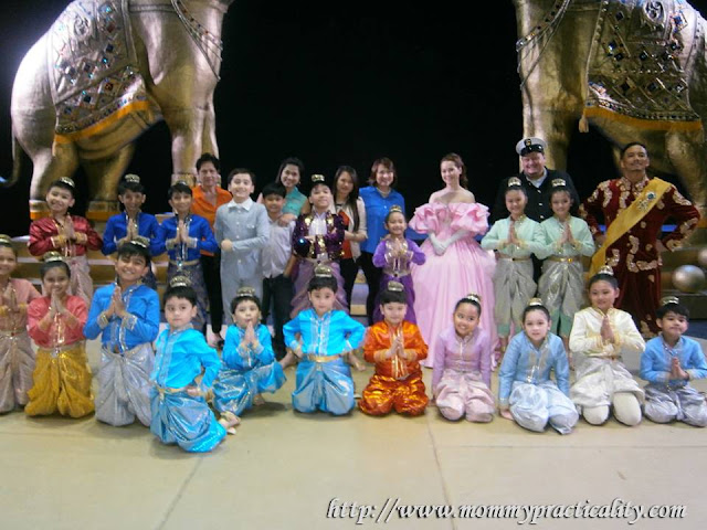 The King And I Cast at Resorts World Manila