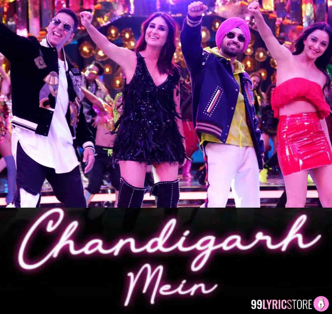 Chandigarh Mein Song images From Movie Good Newwz