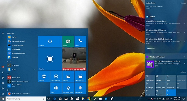 customize notifications on Windows 10