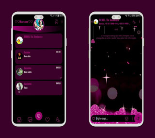 Star Theme For YOWhatsApp & Fouad WhatsApp By Mary Silva