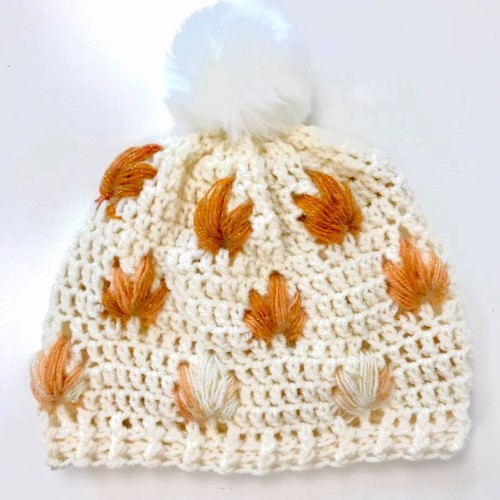 Leafly Autumn Hat - Free Pattern