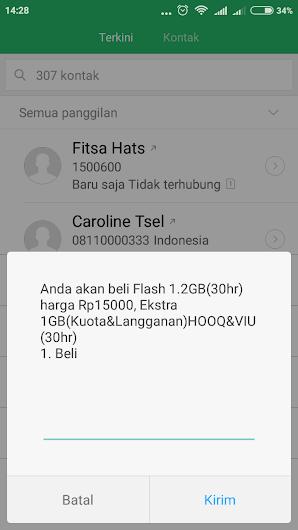 Update Terbaru Cara Beli Paket Data Telkomsel Murah 15 Ribu Dapat 1,2 GB