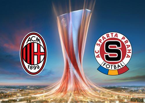 Milan vs Sparta Praha -Highlights 29 October 2020
