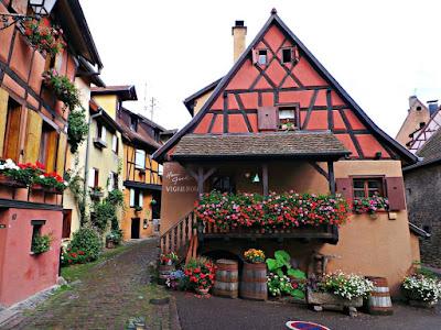La ruta de los vinos de Alsacia