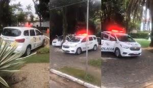 Crime contra administração pública: Doria mantém PMs e viaturas em frente a mansão