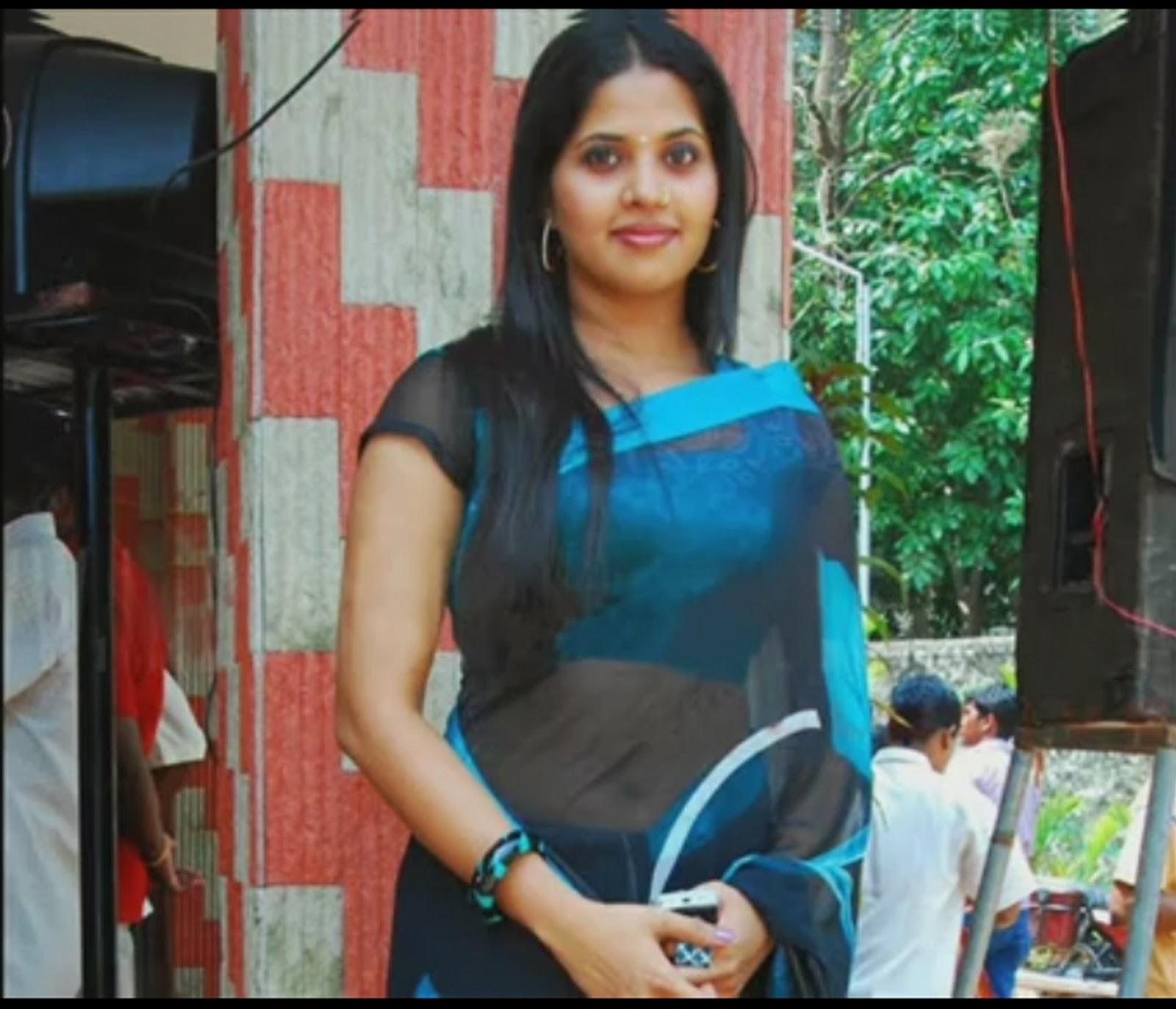 Malayalam Tv Serial Actress Sruthi Nair Hot Navel Show -5407