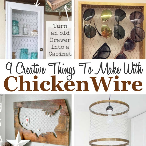 DIY Home Sweet Home: 9 DIY Chicken Wire Projects