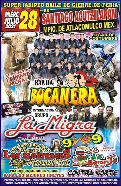 bailes feria santiago acutzilapan 2021