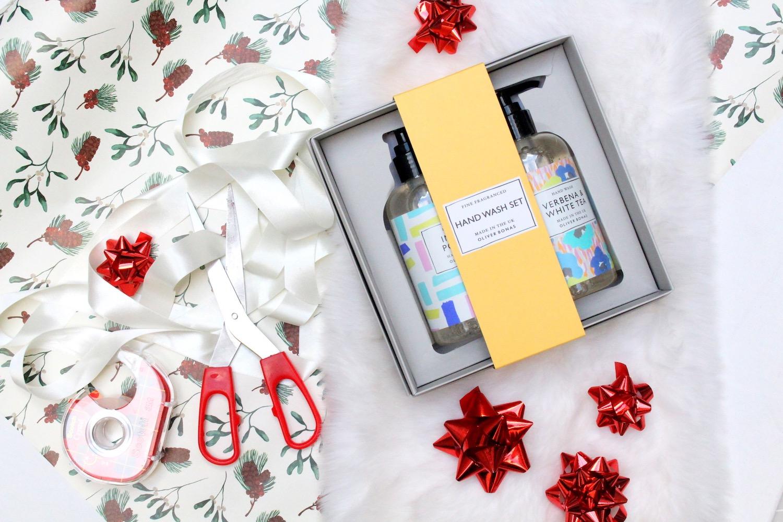 oliver bonas christmas beauty gift guide