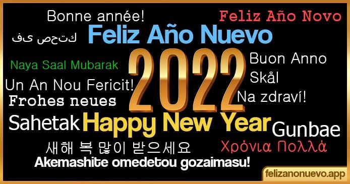 Cómo desean Feliz Año nuevo 2022 en distintos países del mundo