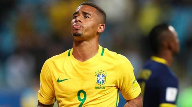 Brazil forward Gabriel Jesus