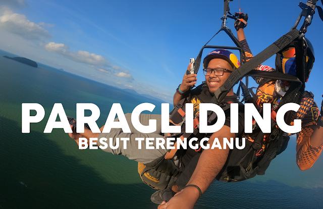 Spot Paragliding Terbaik di Terengganu | View Pantai & Bukit Keluang