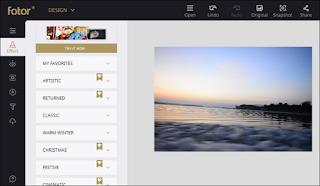 Fotor - Aplikasi Edit Foto Terbaik di Komputer PC dan Laptop