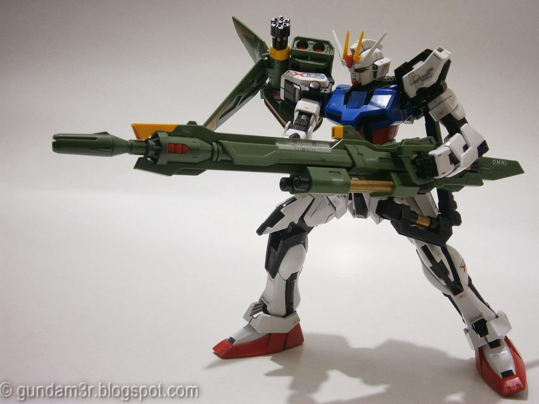 LauncherSword Strike Gundam MG Review Part 4  Gundam3R