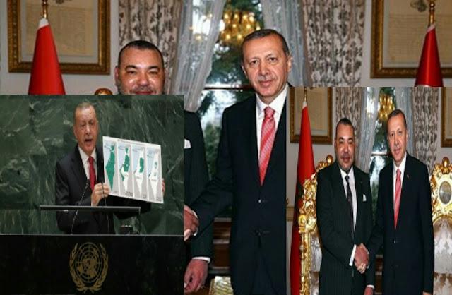 اردوغان في زيارة مرتقبة لي المغرب بي دعوا من المليك