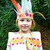 disfraz de indio hecho de papel manualidades infantiles