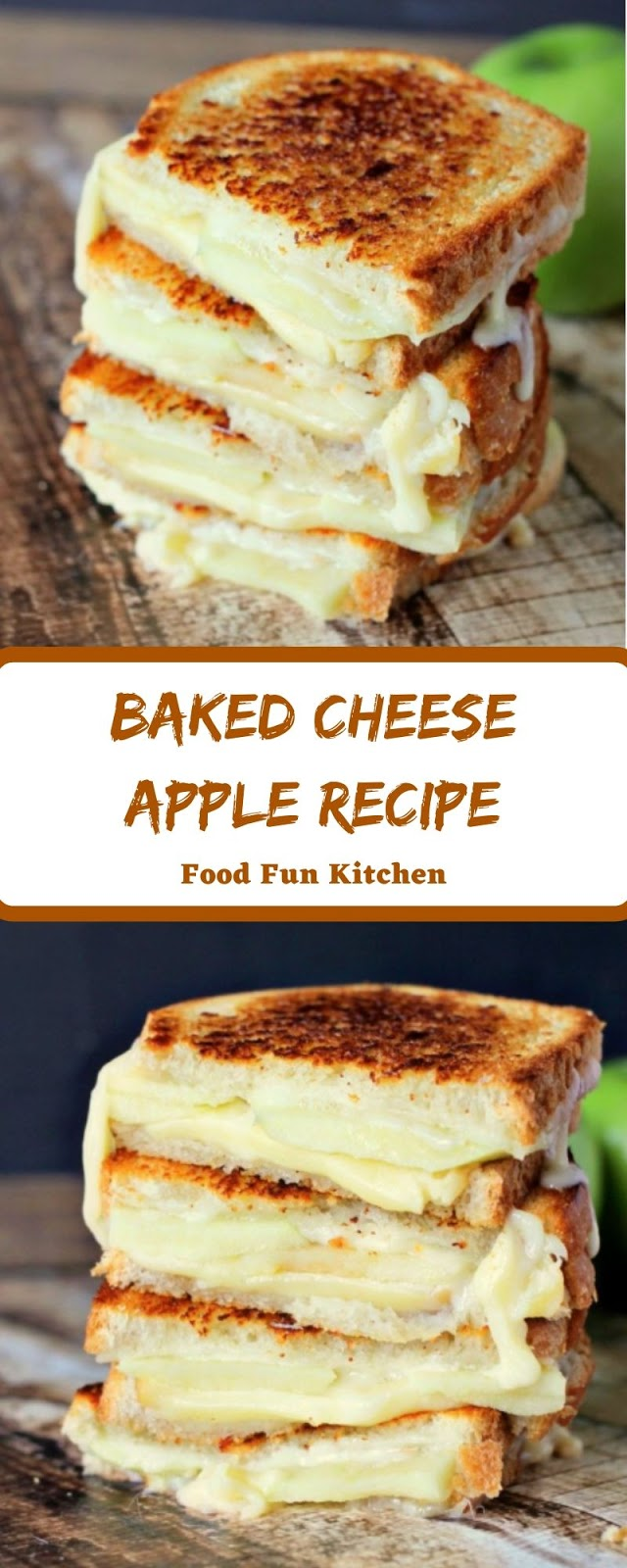 BAKED CHEESE APPLE RECIPE