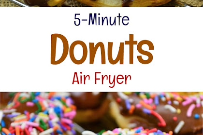 5-Minute Air Fryer Donuts