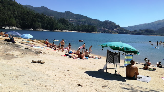 Areal da Praia da barca