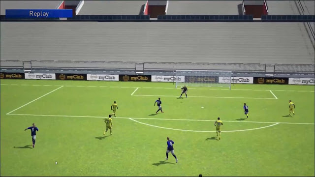ultigamerz: PES 2019 [MOBILE] Fix Lag - No Crowd - New Pitch