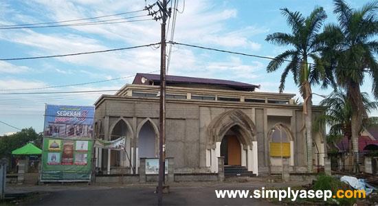 MASJID BABUSSALAM DUTA BANDARA : Inilah masjid yang menjadi wahana saya mendekatkan diri kepada Allah melalui serangkaian amal ibadah yang salah satunya adalah menjadi Muadzin In sha Allah. Foto Asep Haryono