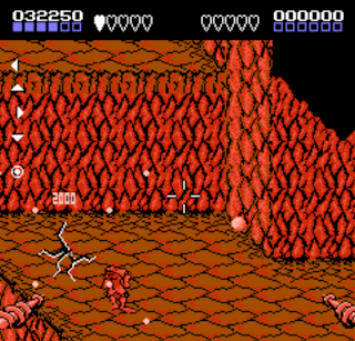 Battletoads - Example of a Second-Person View