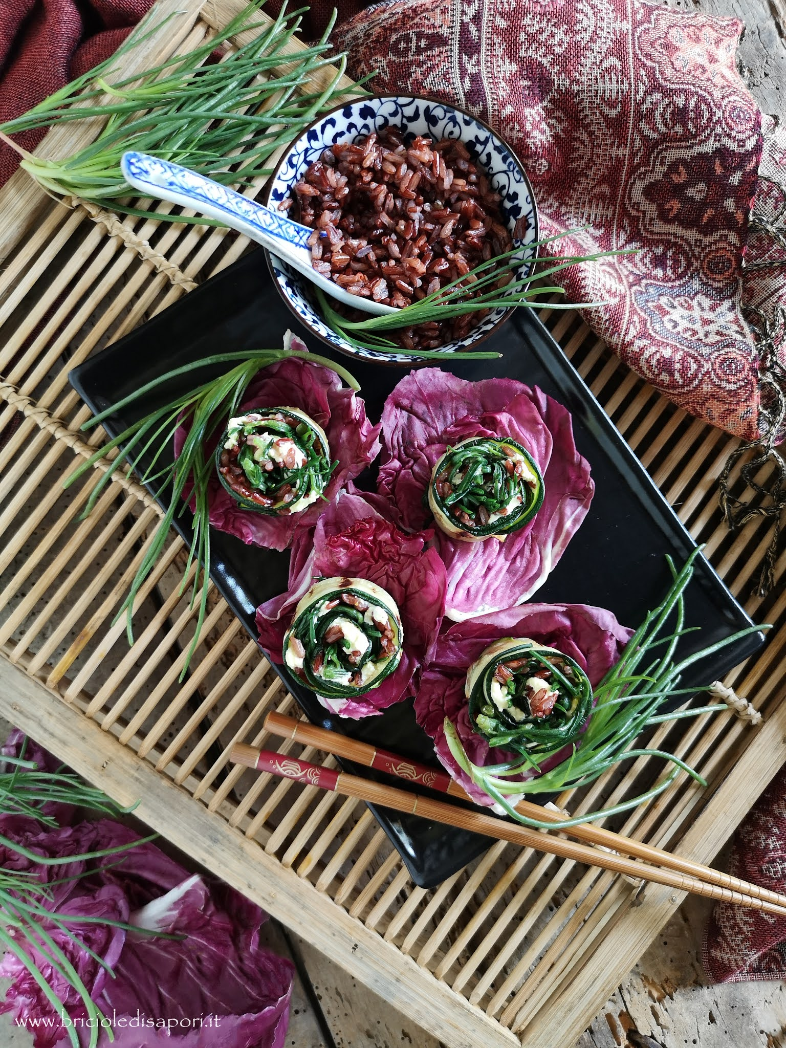 antipasti di zucchine