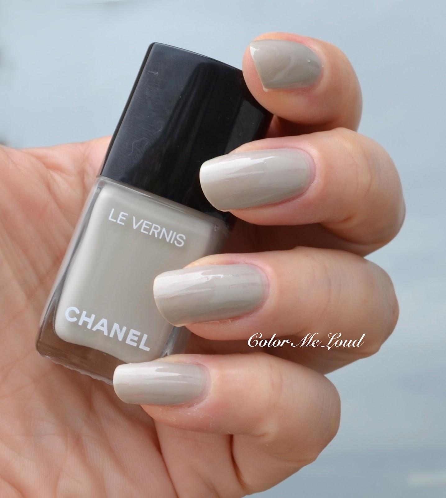 chanel le vernis longwear nail colour nudes vamps review swatch comparisons color me loud. Black Bedroom Furniture Sets. Home Design Ideas