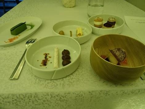 Dessert restaurant Sur Mesure par Thierry Marx au Mandarin Oriental.