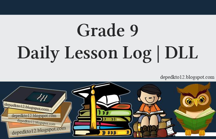 100% Updated 2019 | Grade 9 Daily Lesson Log (Grade 9 DLL)