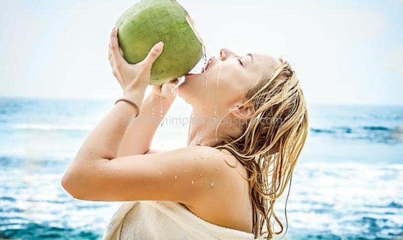 Mimpi minum air kelapa muda togel