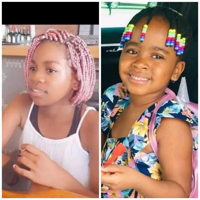 Kelly Khumalo's daughter and Mandisa