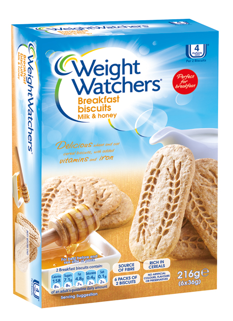Weight Watchers Breakfast Biscuits