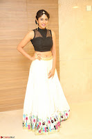 Roshni Prakash in a Sleeveless Crop Top and Long Cream Ethnic Skirt 118.JPG